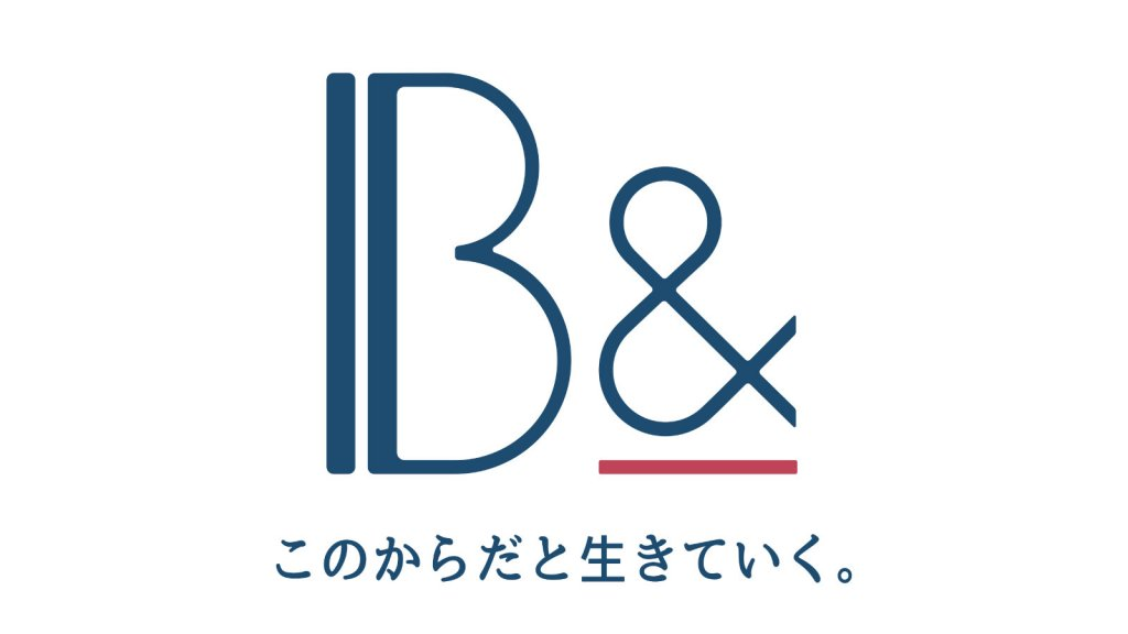 B&のロゴ